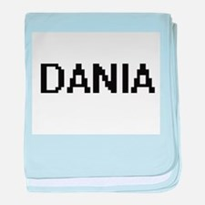 Dania Digital Name baby blanket
