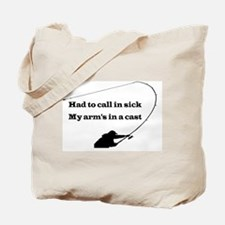 HAND TO CALL IN SICK Tote Bag