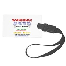 S.m.a.a.r.t.mom I Have Autism Lg Luggage Tag