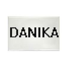 Danika Digital Name Magnets