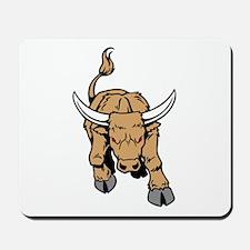 Charging Bull Mousepad