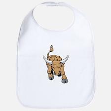Charging Bull Bib