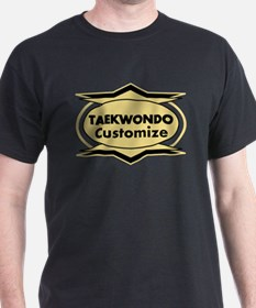 Taekwondo Star stylized T-Shirt