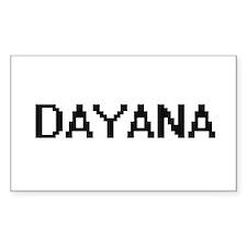 Dayana Digital Name Decal