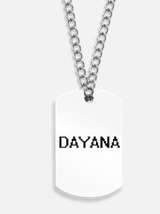 Dayana Digital Name Dog Tags