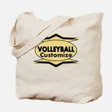 Volleyball Star stylized Tote Bag