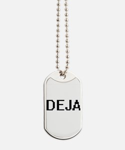 Deja Digital Name Dog Tags