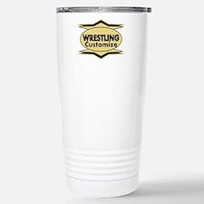 Wrestling Star stylized Travel Mug