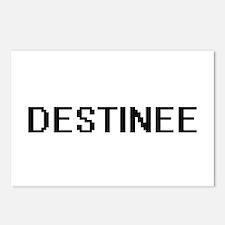 Destinee Digital Name Postcards (Package of 8)