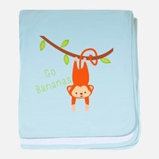 Go Bananas baby blanket