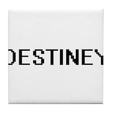 Destiney Digital Name Tile Coaster