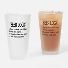 BEER LOGIC Drinking Glass