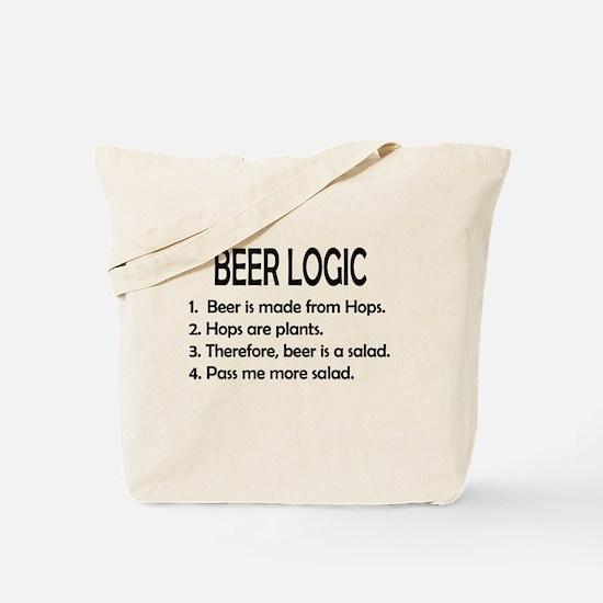 BEER LOGIC Tote Bag