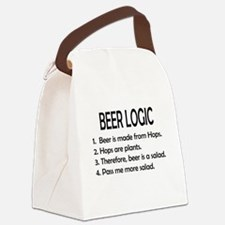 BEER LOGIC Canvas Lunch Bag