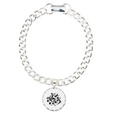 Music Notes Charm Bracelet, One Charm