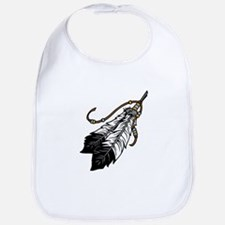 Native American Feathers Bib