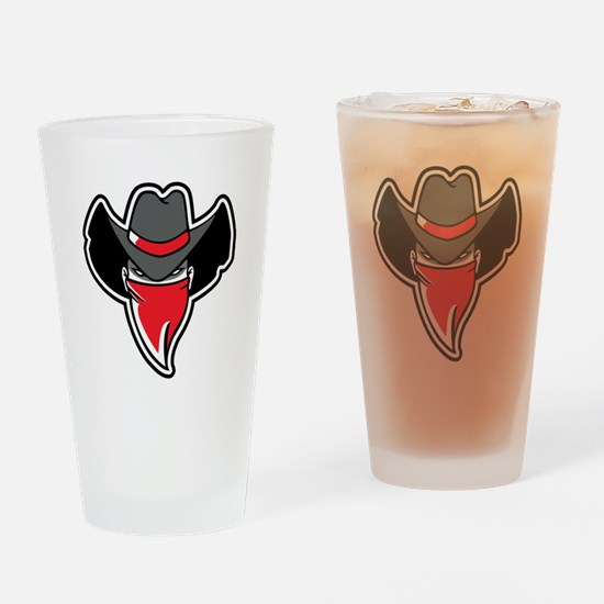 Bandit Drinking Glass