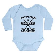Future Hockey Legend Long Sleeve Infant Bodysuit