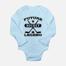 Future Hockey Legend Long Sleeve Infant Bodysuit