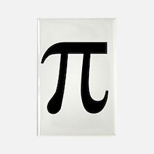 Pi Symbol Rectangle Magnet