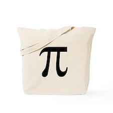 Pi Symbol Tote Bag