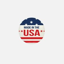 Made In USA Mini Button