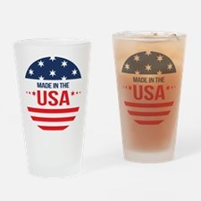 Made In USA Drinking Glass
