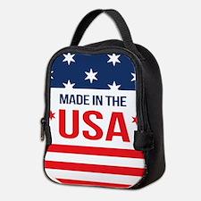 Made In USA Neoprene Lunch Bag
