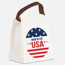Made In USA Canvas Lunch Bag