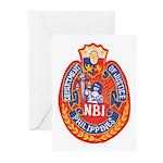 Philippine NBI Greeting Cards (Pk of 10)