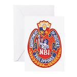 Philippine NBI Greeting Cards (Pk of 20)