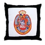Philippine NBI Throw Pillow