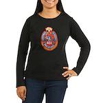 Philippine NBI Women's Long Sleeve Dark T-Shirt