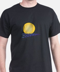 Moon On Water T-Shirt