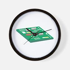 Circut Board Wall Clock