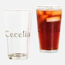 Cecelia Seashells Drinking Glass