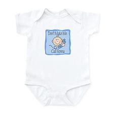Don't Make Me Call Nonna Boy Baby/Toddler bodysuit
