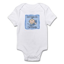 Don't Make Me Call Grandpa Boy Baby bodysuit