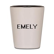 Emely Digital Name Shot Glass