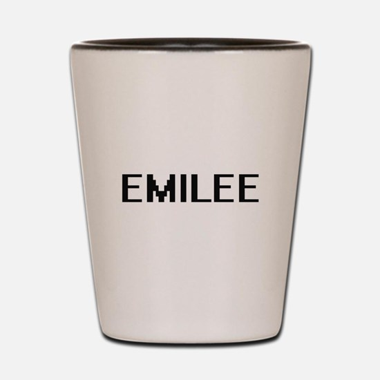 Emilee Digital Name Shot Glass