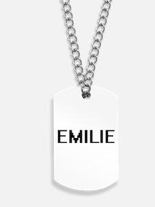 Emilie Digital Name Dog Tags