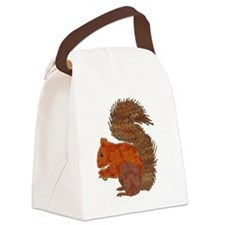 Cute Trees Canvas Lunch Bag