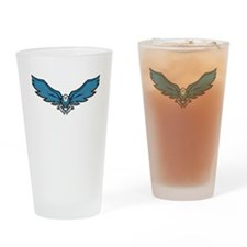 Blue Eagle Drinking Glass