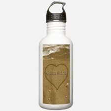 Casandra Beach Love Sports Water Bottle