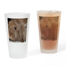 Morris the Happy Bunny Drinking Glass
