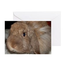 Morris the Happy Bunny Greeting Card