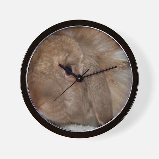 Morris the Happy Bunny Wall Clock