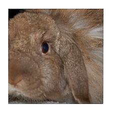 Morris the Happy Bunny Tile Coaster