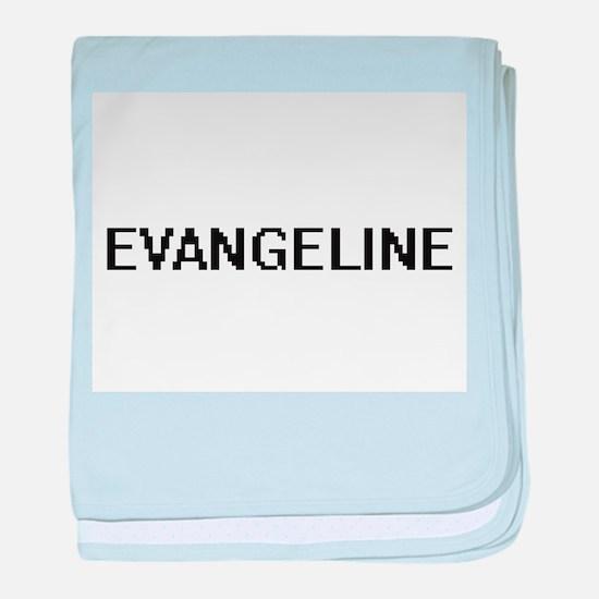 Evangeline Digital Name baby blanket
