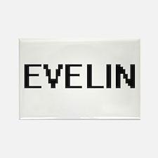 Evelin Digital Name Magnets